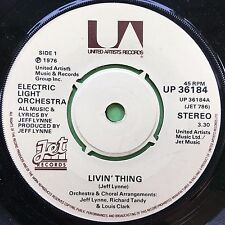 Electric Light Orchestra - ELO - Livin Thing / Fire On High - UP-36184 Ex A1/B1