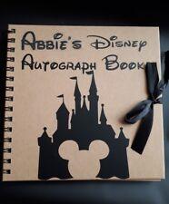 Personalizado Disney Scrapbook Mickey Mouse autógrafo libro Florida PARIS
