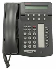 New Avaya 6408D+ Digital Voice Business Office Grey Telephone with Accessories