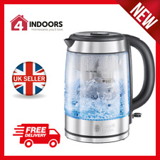 Russell Hobbs 20760 1.5L Purity Glass Kettle Brita Filter 3000w - Brand New