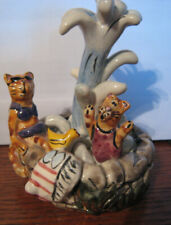 New listing Adorable! Vintage Heather Goldmine Clay Works, 'Cats' Great Gift!