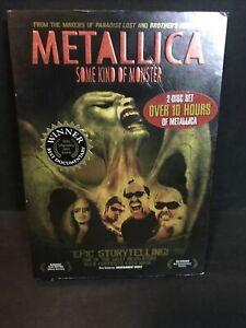 Metallica: Some Kind of Monster (DVD, 2005) Brand New Sealed W Slipcover