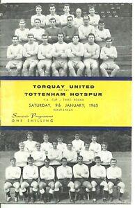 1965 Torquay United v Tottenham Hotspur [FAC]
