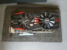ASUS AMD Radeon R9 280X DirectCU II (3072 MB) (R9280X-DC2-3GD5) tarjeta de gráficos