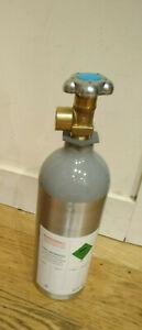 CO2 Refillable Bottle 2KG Pressure Aquarium Plant Canister Empty Bottle