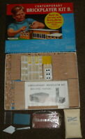 Vintage 1960s Contemporary Brickplayer Kit B  by Spear's Games Bricklayer Bui...
