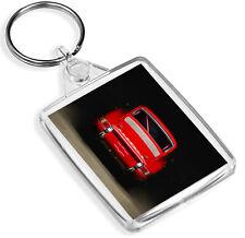 Red Vintage Car Keyring Porsche 911 Men's Racing Keyring Gift #12564
