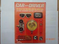 Collectible Automobile magazine, Car & Driver, November, 1964