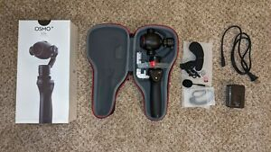 DJI OSMO+ PLUS Handheld 4K 12MP Stabilized Camera 22 w/64GB MICRO SD (USED ONCE)