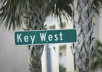 A1 | Key West Sign Poster Art Print 60 x 90cm 180gsm America Travel Gift #12579