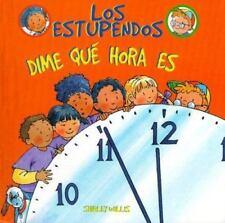 Dime Qui Hora Es Estupendos Whiz Kids Spanish Edition