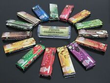 1pcs  ZIG-ZAG 78mm Cigarette Roller Machine + 1 Booklets Rolling Papers N100