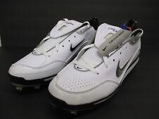 New Men's Nike Air Show Elite MVP Black/White Baseball Cleats Shoes Size 14