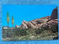 Singing Rocks (Mormon Rocks) of the Cajon, California  Vintage Postcard
