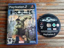 PS2 : the incredible hulk