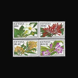 Guyana, MNH, 1994, Tropical flowers, plants, AS8Z-A
