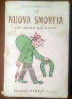 LA NUOVA SMORFIA DEL GIOCO DEL LOTTO di Giuseppe Romeo De Luca 1967 Bideri