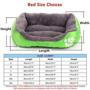 Dog Beds Waterproof Bottom Soft Fleece - diff. sizes/colors- Free shipping to US