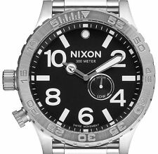 DISPLAY ITEM $425 Nixon Men's Stainless-Steel Analog Swiss Dial Watch A057-000