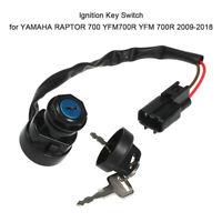 Ignition Key Switch for YAMAHA RAPTOR 700 YFM700R YFM 700R 2009-2016 1Pcs Z2C3