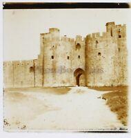 Francia Aigues-Mortes 1932 Foto Stereo Placca Da Lente Vintage n2