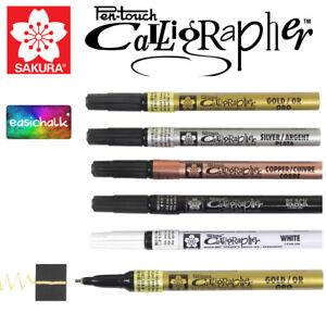 Sakura Pen Touch Calligrapher Fine 1.8mm Paint Marker Pen Calligraphy Card Paper