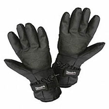 Ladies 3m Thinsulate Thermal Black Heated Battery Electric Gloves Df2