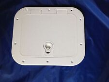ACCESS / INSPECTION HATCH 282 X 210mm WHITE IDEAL BOAT CARAVAN  DIY SAIL