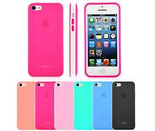 iPhone 5c Case Shock Proof Soft Anti-Scratch TPU Dual Tone Matte Bumper  Cover