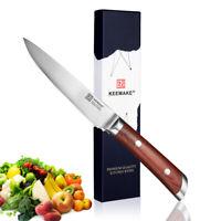 German Stainless Steel 5-inch Utility Knife Razor Sharp Vegetable Kitchen Slicer