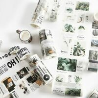Travelling Washi Tape DIY Scrapbooking Sticker Label Masking Tape School Office