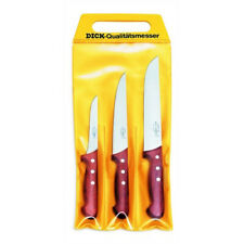 FDick 3 pc Bubinga Wood Handle Butcher Knife Set 8155300