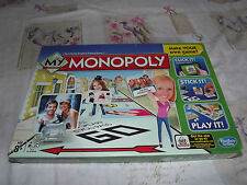 MY MONOPOLY FAMILY BOARD GAME MAKE YOUR OWN OWN HASBRO