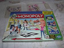 My Monopoly Family Board Game faire votre propre propre Hasbro 2014