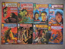 1974 Monsters of the Movies Full Run of all 9 Issues