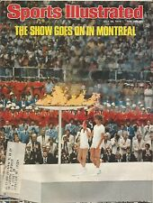 1976 SUMMER OLYMPICS PREVIEW SPORTS ILLUSTRATED MONTREAL USA BOXING COMANECI