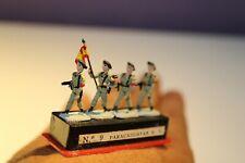 ALYMER Miniploms nº9. Soldados de plomo. 20mm (1:87). Paracaidistas e.t.