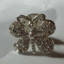 Butterfly Pin Sparkly Gem