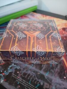 Flesh And Blood 1st edition Crucible of War Booster Box Sealed