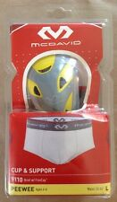 McDavid - Peewee Performance Compression Brief with FlexCup | #9110 | Lg. 4-6Yrs