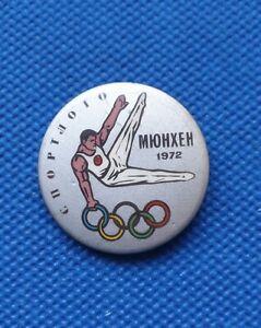 badge Gymnastic USSR Olympic Olympics Games MUNICH 1972 München 72 Germany