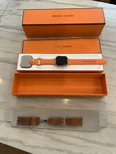 Apple Watch Series 4 Hermès 44 mm Stainless Steel Case with Single Deployment