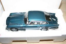 Danbury Mint Aston Martin DB5 Egeo azul Nuevo con papeleo