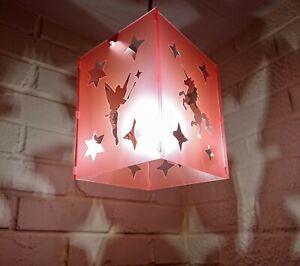 lampshade light shade UNICORN  star stars pink FAIRY small BEDROOM BABY