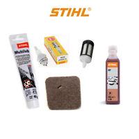 GENUINE Stihl service kit FS38 FS55 FS45 strimmer air fuel filter oil grease