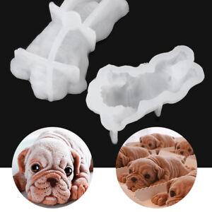 Shar Pei Chocolate Gumpaste 3D Dog Silicone Mold Ice Cream Mould Mousse Cake