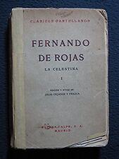 La Celestina I [Paperback] by Fernando De Rojas; Julio Cejador Y Frauca