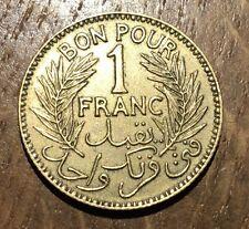 PIECE DE BON POUR 1 FRANC TUNISIE 1921 (141)
