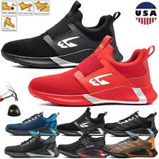 New listing Mens Hiking Safety Work Boots Shoes Sports Mesh Waterproof Steel Toe Sneakers 12