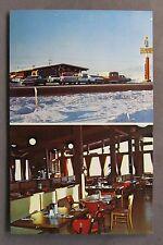 1950's THE ORIGINAL BAR-B-QUE PIT Anchorage Alaska chrome postcard unused